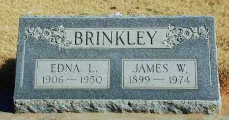 BRINKLEY, EDNA L - Beckham County, Oklahoma | EDNA L BRINKLEY - Oklahoma Gravestone Photos