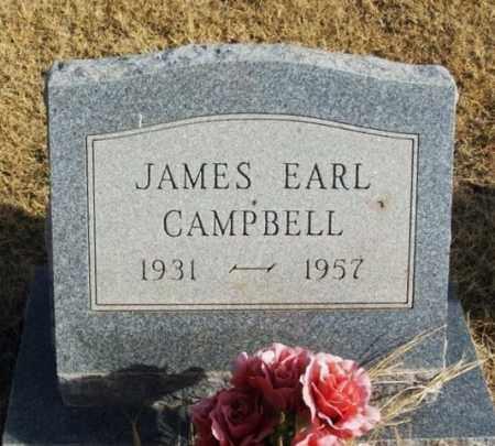 CAMPBELL, JAMES EARL - Beckham County, Oklahoma | JAMES EARL CAMPBELL - Oklahoma Gravestone Photos