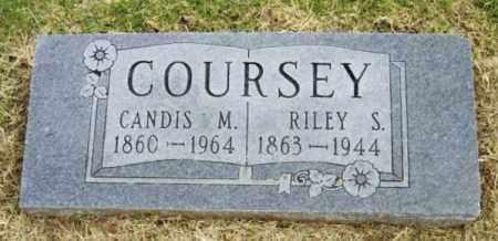 COURSEY, CANDIS M - Beckham County, Oklahoma | CANDIS M COURSEY - Oklahoma Gravestone Photos