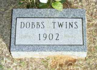 DOBBS, TWIN INFANTS - Beckham County, Oklahoma | TWIN INFANTS DOBBS - Oklahoma Gravestone Photos