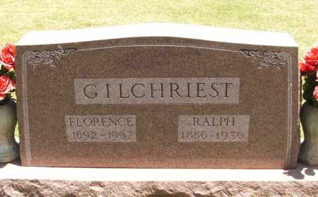 GILCHRIEST, FLORENCE - Beckham County, Oklahoma | FLORENCE GILCHRIEST - Oklahoma Gravestone Photos