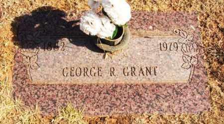 GRANT, GEORGE R - Beckham County, Oklahoma   GEORGE R GRANT - Oklahoma Gravestone Photos