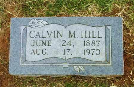 HILL, CALVIN M - Beckham County, Oklahoma | CALVIN M HILL - Oklahoma Gravestone Photos