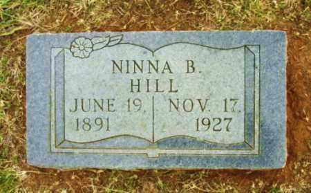 HILL, NINNA B - Beckham County, Oklahoma | NINNA B HILL - Oklahoma Gravestone Photos