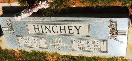STONE HINCHEY, ANICE - Beckham County, Oklahoma | ANICE STONE HINCHEY - Oklahoma Gravestone Photos