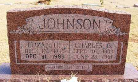 JOHNSON, CHARLES G - Beckham County, Oklahoma | CHARLES G JOHNSON - Oklahoma Gravestone Photos