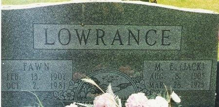 LOWRANCE, MAIME FAWN - Beckham County, Oklahoma   MAIME FAWN LOWRANCE - Oklahoma Gravestone Photos