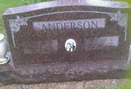 ANDERSON, WILLIE S. - Bryan County, Oklahoma | WILLIE S. ANDERSON - Oklahoma Gravestone Photos