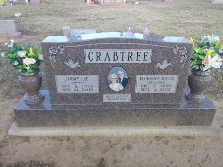CRABTREE, FLORENCE MILLIE - Bryan County, Oklahoma | FLORENCE MILLIE CRABTREE - Oklahoma Gravestone Photos