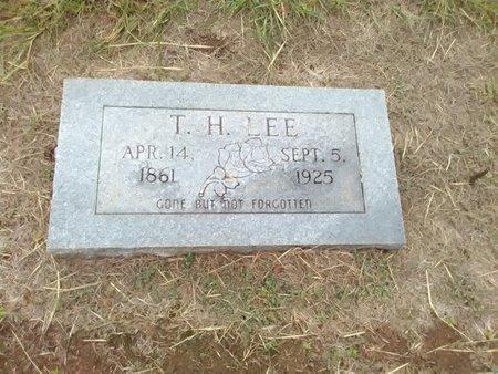 LEE, T. H. - Bryan County, Oklahoma | T. H. LEE - Oklahoma Gravestone Photos
