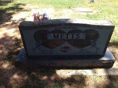METTS, SYLVIA JEAN - Bryan County, Oklahoma | SYLVIA JEAN METTS - Oklahoma Gravestone Photos