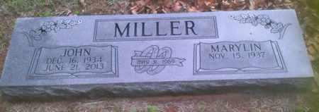 MILLER, JOHN - Bryan County, Oklahoma | JOHN MILLER - Oklahoma Gravestone Photos