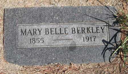 BERKLEY, MARY BELL - Caddo County, Oklahoma   MARY BELL BERKLEY - Oklahoma Gravestone Photos