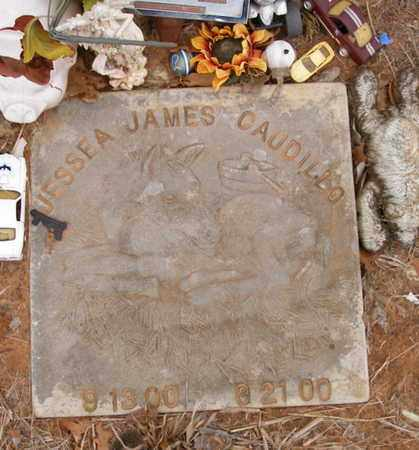 CAUDILLO, JESSEA JAMES - Caddo County, Oklahoma   JESSEA JAMES CAUDILLO - Oklahoma Gravestone Photos