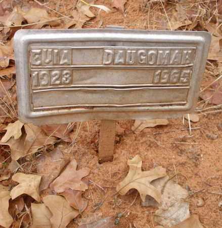 DAUGOMAH, EULA - Caddo County, Oklahoma | EULA DAUGOMAH - Oklahoma Gravestone Photos