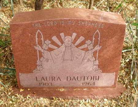 DAUTOBI, LAURA - Caddo County, Oklahoma | LAURA DAUTOBI - Oklahoma Gravestone Photos