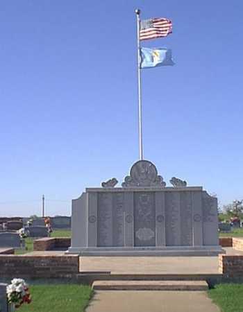 *VETERANS MEMORIAL,  - Caddo County, Oklahoma |  *VETERANS MEMORIAL - Oklahoma Gravestone Photos