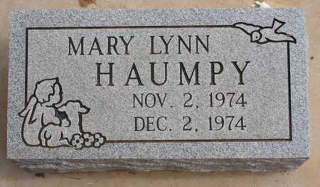 HAUMPY, MARY LYNN - Caddo County, Oklahoma | MARY LYNN HAUMPY - Oklahoma Gravestone Photos