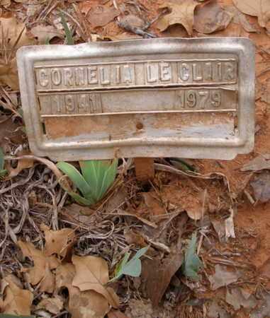 LECLAIR, CORNELIA - Caddo County, Oklahoma | CORNELIA LECLAIR - Oklahoma Gravestone Photos