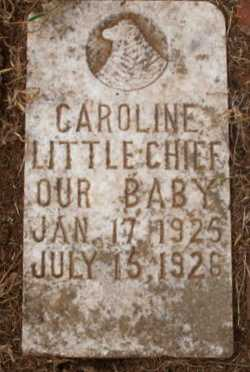 LITTLECHIEF, CAROLINE - Caddo County, Oklahoma | CAROLINE LITTLECHIEF - Oklahoma Gravestone Photos