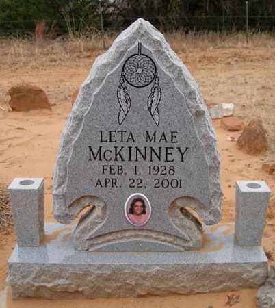 MCKINNEY BUTLER, LETA MAE - Caddo County, Oklahoma | LETA MAE MCKINNEY BUTLER - Oklahoma Gravestone Photos