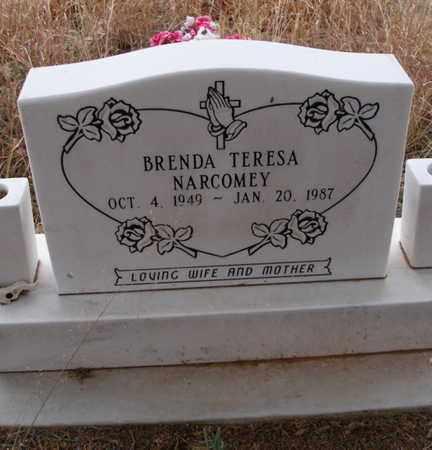 NARCOMEY, BRENDA TERESA - Caddo County, Oklahoma   BRENDA TERESA NARCOMEY - Oklahoma Gravestone Photos