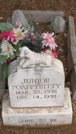 POAFPYBITTY, JUNIOR - Caddo County, Oklahoma | JUNIOR POAFPYBITTY - Oklahoma Gravestone Photos