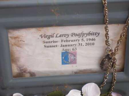 POAFPYBITTY SR, VIRGIL LEROY - Caddo County, Oklahoma | VIRGIL LEROY POAFPYBITTY SR - Oklahoma Gravestone Photos