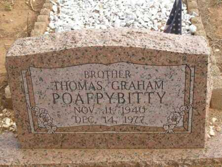 POAFPYBITTY, THOMAS GRAHAM - Caddo County, Oklahoma | THOMAS GRAHAM POAFPYBITTY - Oklahoma Gravestone Photos
