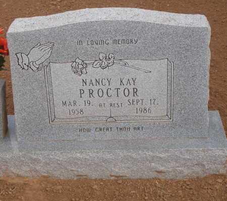 PROCTOR, NANCY KAY - Caddo County, Oklahoma | NANCY KAY PROCTOR - Oklahoma Gravestone Photos