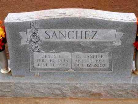 SANCHEZ, JESUS L - Caddo County, Oklahoma | JESUS L SANCHEZ - Oklahoma Gravestone Photos