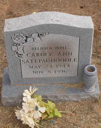 SATEPAUHOODLE, CAROLE ANN - Caddo County, Oklahoma | CAROLE ANN SATEPAUHOODLE - Oklahoma Gravestone Photos