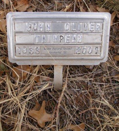 TAINPEAH, JOHN OLIVER - Caddo County, Oklahoma   JOHN OLIVER TAINPEAH - Oklahoma Gravestone Photos