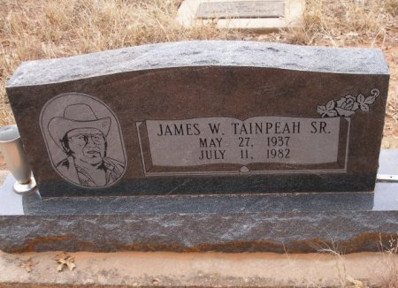 TAINPEAH SR, JAMES WILLIAM - Caddo County, Oklahoma | JAMES WILLIAM TAINPEAH SR - Oklahoma Gravestone Photos