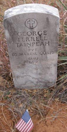 TAINPEAH (VETERAN), GEORGE TERRELL - Caddo County, Oklahoma | GEORGE TERRELL TAINPEAH (VETERAN) - Oklahoma Gravestone Photos