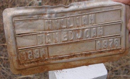 TANEDOOAH, WILLIAM - Caddo County, Oklahoma   WILLIAM TANEDOOAH - Oklahoma Gravestone Photos