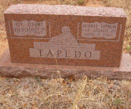 TAPEDO, JEROME REV. - Caddo County, Oklahoma | JEROME REV. TAPEDO - Oklahoma Gravestone Photos