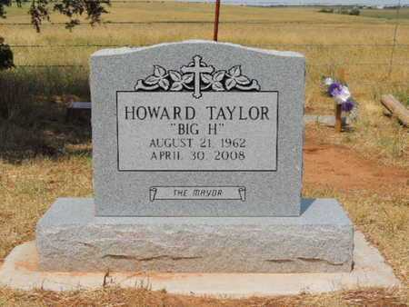 "TAYLOR, HOWARD ""BIG H"" - Caddo County, Oklahoma 