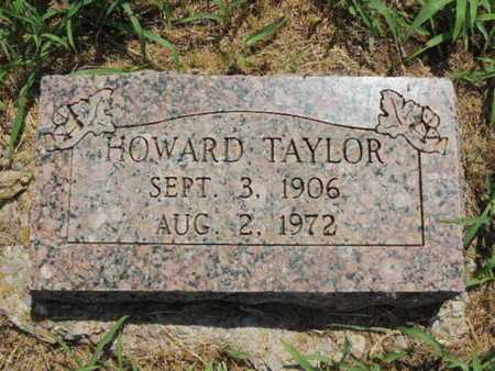 TAYLOR, HOWARD - Caddo County, Oklahoma | HOWARD TAYLOR - Oklahoma Gravestone Photos