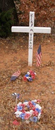 TOPAUM, RICKY ALLEN - Caddo County, Oklahoma   RICKY ALLEN TOPAUM - Oklahoma Gravestone Photos