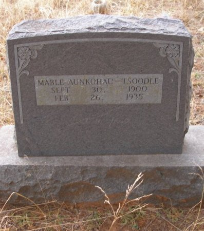 TSOODLE, MABLE - Caddo County, Oklahoma | MABLE TSOODLE - Oklahoma Gravestone Photos