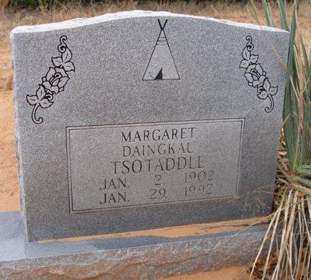 DAINGKAU TSOTADDLE, MARGARET - Caddo County, Oklahoma | MARGARET DAINGKAU TSOTADDLE - Oklahoma Gravestone Photos
