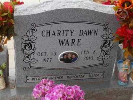 WARE, CHARITY DAWN - Caddo County, Oklahoma   CHARITY DAWN WARE - Oklahoma Gravestone Photos