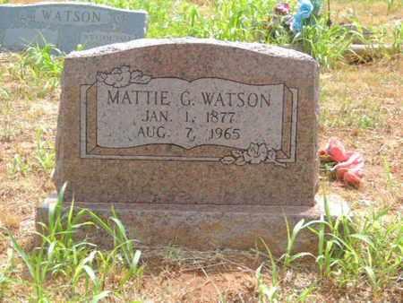 WATSON, MINNIE G - Caddo County, Oklahoma | MINNIE G WATSON - Oklahoma Gravestone Photos