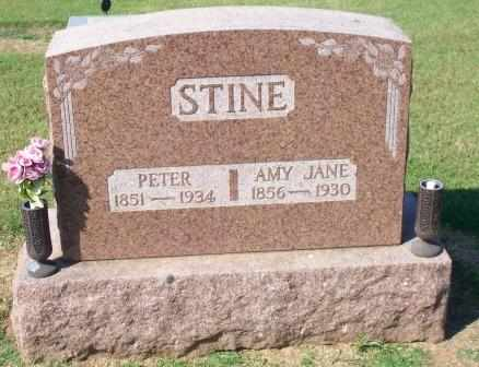 STINE, AMY JANE - Canadian County, Oklahoma | AMY JANE STINE - Oklahoma Gravestone Photos