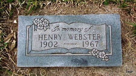 WEBSTER, HENRY - Canadian County, Oklahoma   HENRY WEBSTER - Oklahoma Gravestone Photos