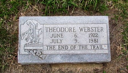 WEBSTER, THEODORE - Canadian County, Oklahoma | THEODORE WEBSTER - Oklahoma Gravestone Photos
