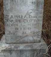 CLIFTON, ZARUA - Carter County, Oklahoma | ZARUA CLIFTON - Oklahoma Gravestone Photos