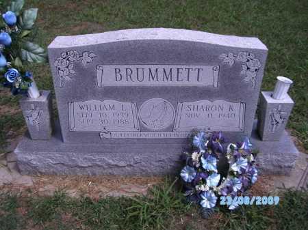 BRUMMETT, WILLIAM L - Cherokee County, Oklahoma | WILLIAM L BRUMMETT - Oklahoma Gravestone Photos