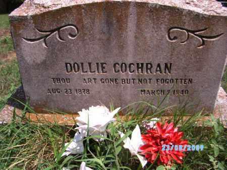 COCHRAN, DOLLIE - Cherokee County, Oklahoma | DOLLIE COCHRAN - Oklahoma Gravestone Photos